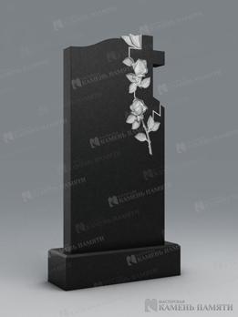 """""""Крест и два цветка"""". В-45"""