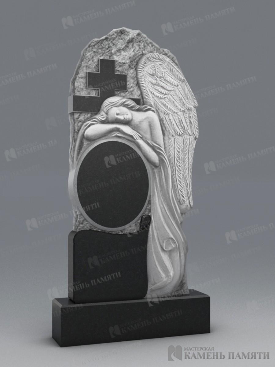 Памятник Ангел и крест. В-64